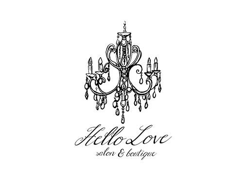 Hello Love Salon & Boutique logo